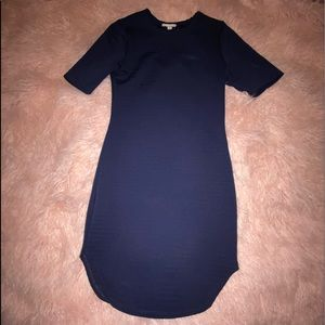 ❤️ 3 for $20 ❤️ Navy blue bodycon dress